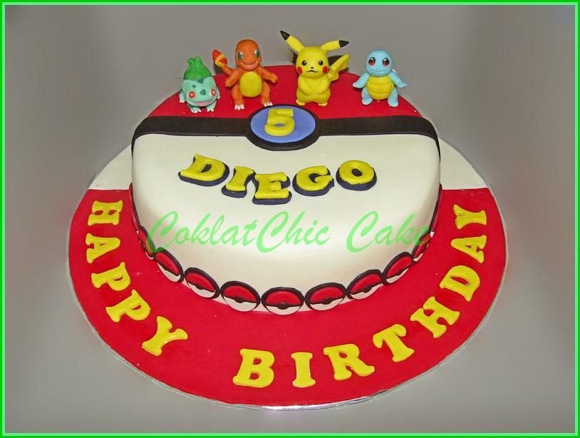 Cake Pokemon DIEGO 24 cm