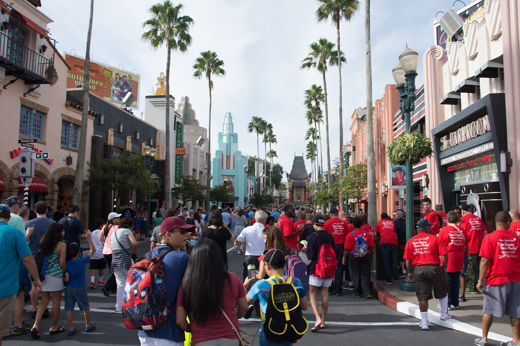 Hollywood Boulevard at Hollywood Studios Disney