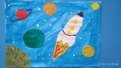 Балун Арсений (рук. Галиуллина Наргиз Закиевна, Зарипова Альбина Борисовна) - Ракета