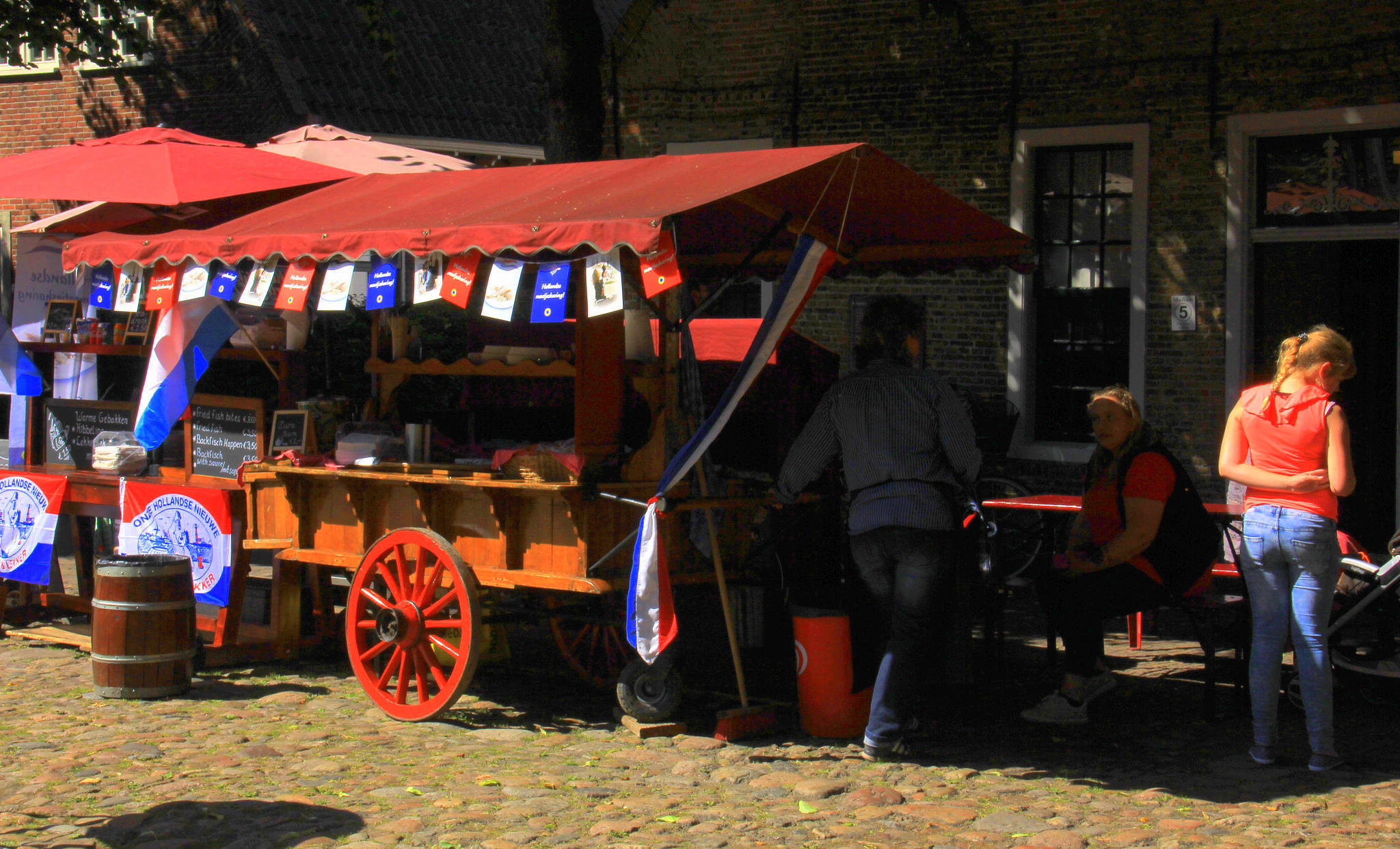The fort bourtange holds many festivals and flea markets