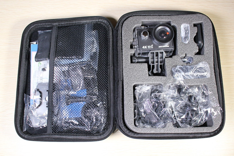 MUSON(ムソン)アクションカメラ 開封レビュー (9)