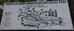 Map of Darjeeling Zoo