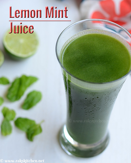 lemon-mint-juice