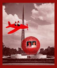 Kevin & Ulrick Gnome, Walt & Glenda Aerorvan help construct the 1939 NY World's Fair