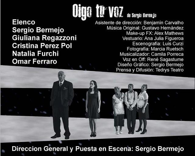 Oigo tu voz - Teatro La Comedia