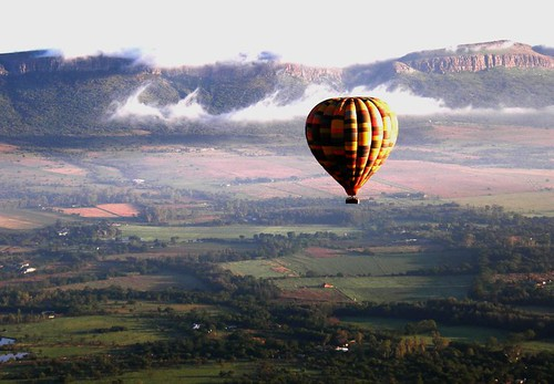 A balloon safari