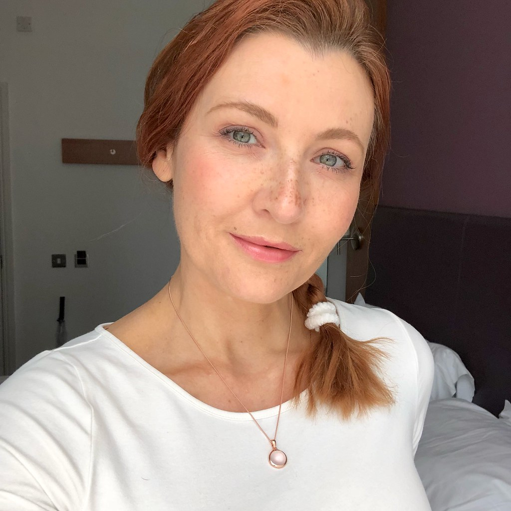 In Praise of Natural Makeup: A 40-something year old face with natural makeup | Not Dressed As Lamb, over 40 style blog