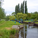 Baddow Lock, River Chelmer Navigation, Essex