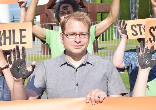 30.05.18: Protest vor Kanzleramt: Klima schützen! Kohle stoppen!