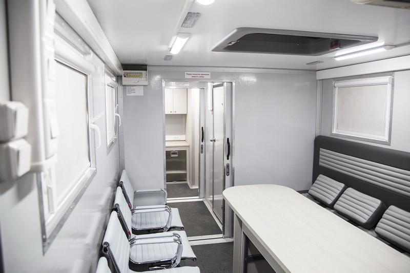 Мобильный офис на шасси КАМАЗ
