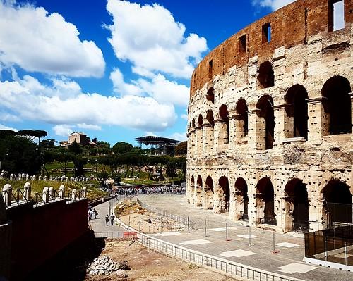 Passeggiata al Colosseo, Roma
