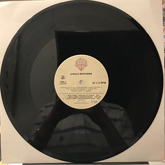 JUNGLE BROTHERS:WHAT U WAITIN' 4(RECORD SIDE-B)