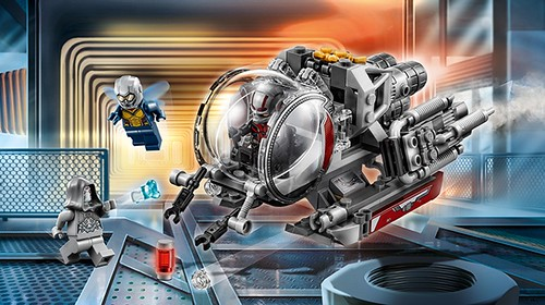 LEGO Marvel Superheroes 76109 Quantum Realm Explorers 00