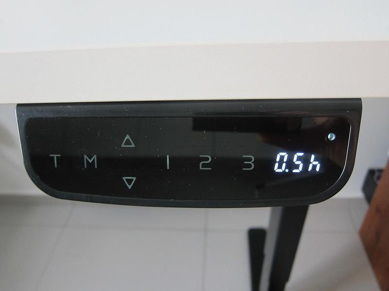 ErgoEdge AmpDesk Standing Desk - Timer