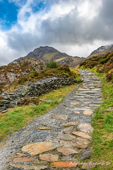 Trail To Tryfan Mountain Snowdonia