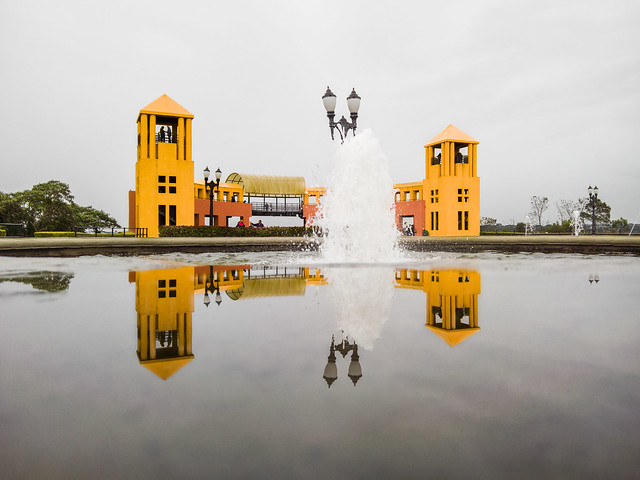 Chuva - Chafariz e Mirante do Parque Tanguá