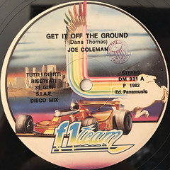 JOE COLEMAN:GET IT OFF THE GROUND(LABEL SIDE-A)