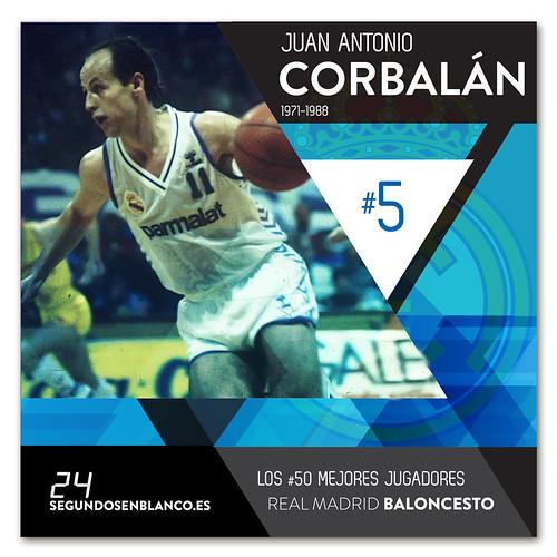 #5 JUAN ANTONIO CORBALÁN