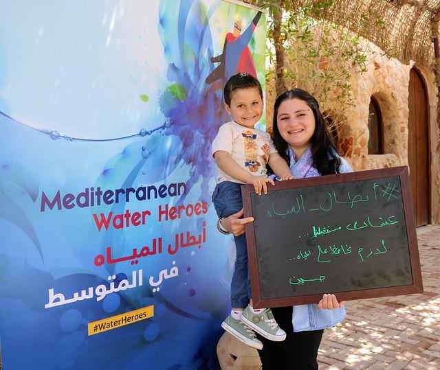 2nd Edition:  #WaterHeroes  أبطال المياه#