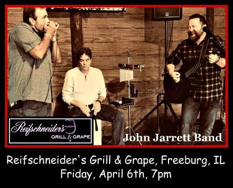 John Jarrett Band 4-6-18