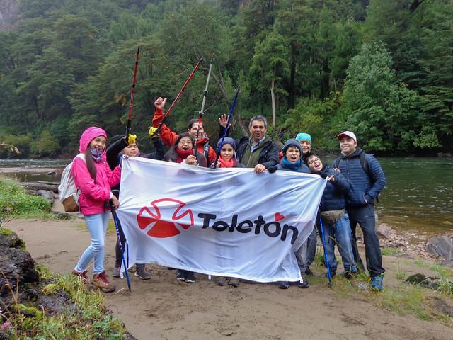 Trekking niños Teletón Aysén