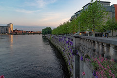 THE SHANNON RIVER [AS IT PASSES THROUGH THE CITY OF LIMERICK]-140738