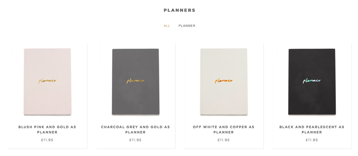 World Stationery Day - planner range