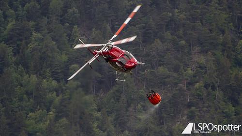 AirZermatt - Bell 429 - HB-ZSU - Raron Airport