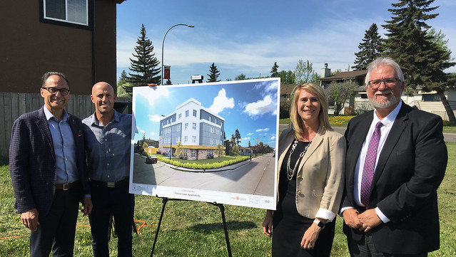 New stable housing for homeless in Calgary