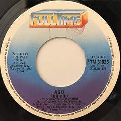 AGO:FOR YOU(LABEL SIDE-A)