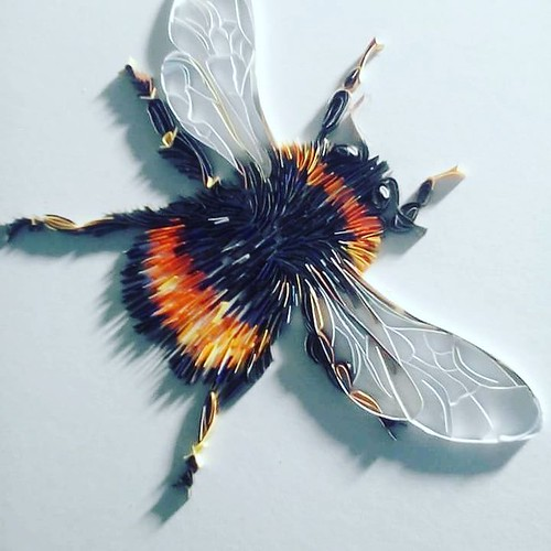 Paper Art Bumble Bee