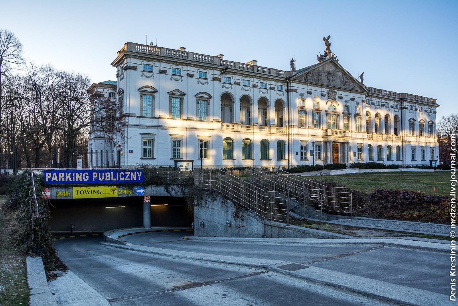 Варшава. Дворец Красиньских.