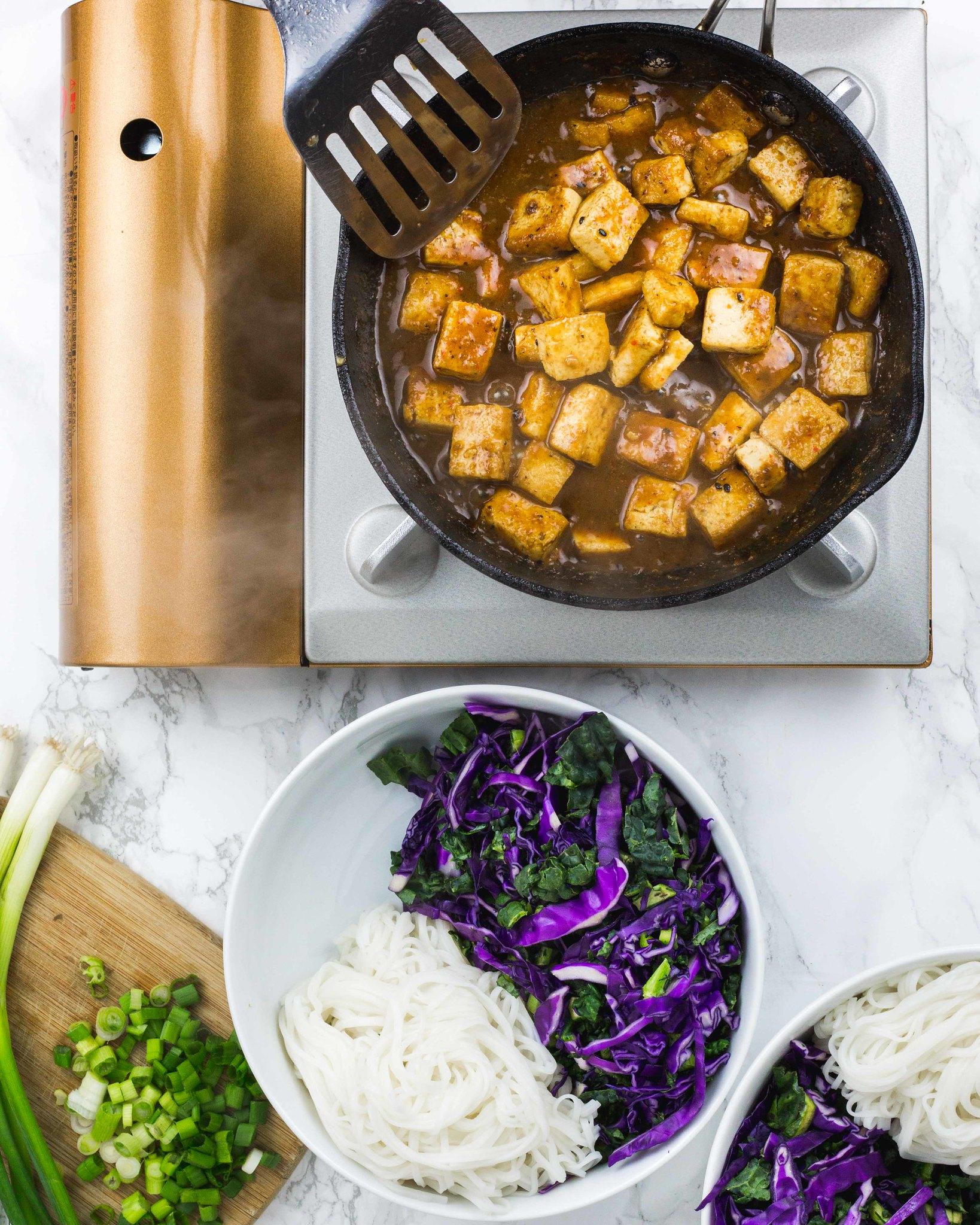 Ma Po Tofu with Kimchi | Vegan Recipe with Kimchi