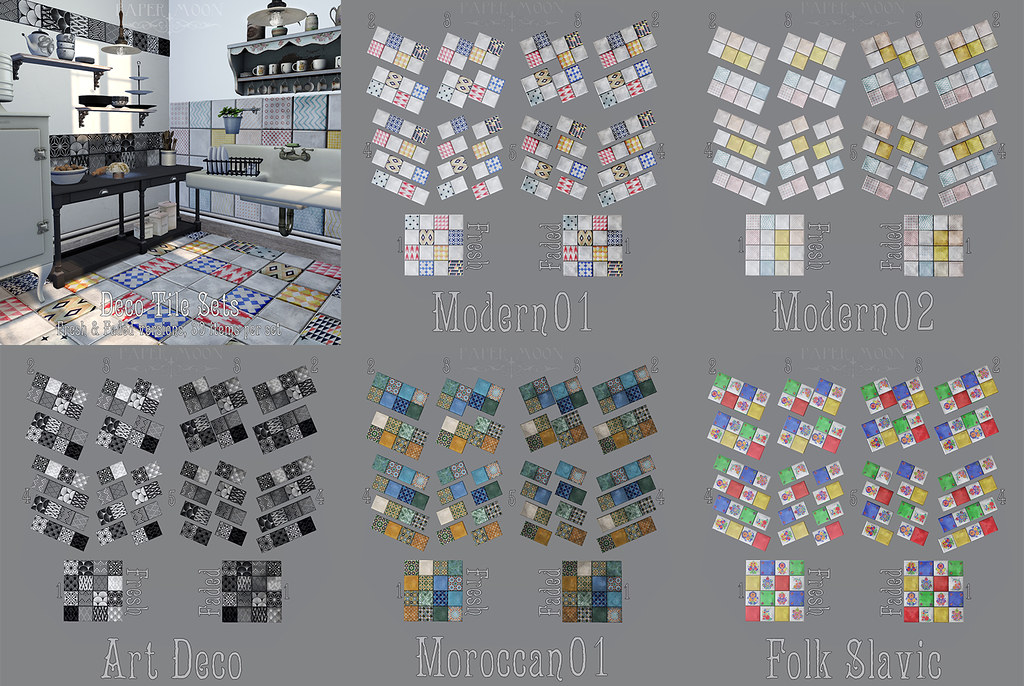 *pm* Deco Tiles poster