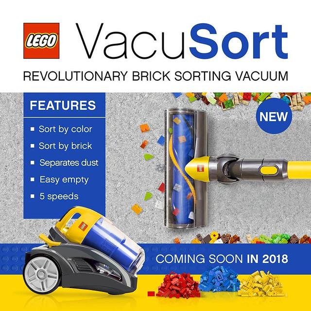Pierwszokwietniowy żarcik od LEGO