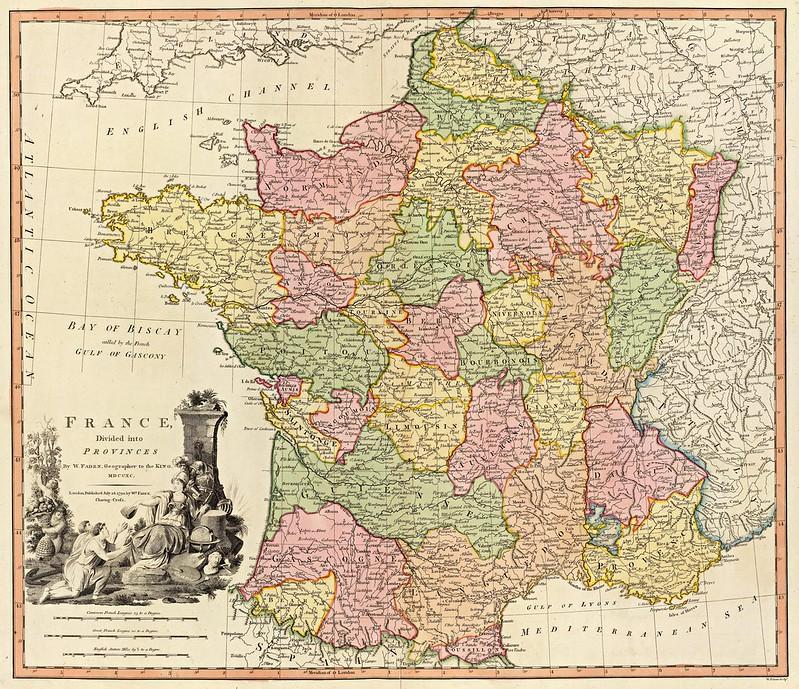 William Faden - France (1790)