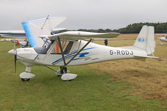 G-RODJ Ikarus Comco C-42 (0709-6912) Popham 030808