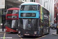 Wrightbus NRM NBFL - LTZ 1224 - LT224 - Breyers Delights - Clapton Pond 38 - Arriva London - London 2018 - Steven Gray - IMG_7873