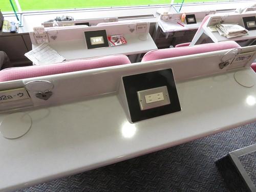 福島競馬場のC指定席の座席