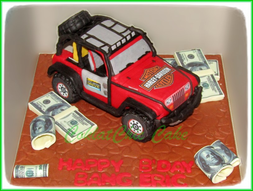Cake Jeep Off Road BANG ERIC 15 cm