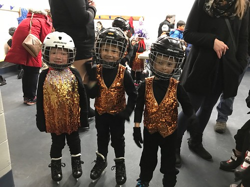 My grandson and friends at a skating recital last weekend! Awesome skating by everyone!