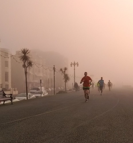 (Not so) Sunny Worthing Parkrun on the 14th of April 2018..until the end!