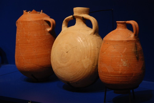 Vessels from Dead Sea Scroll exhibit. From History Comes Alive at the Denver Museum of History and Science