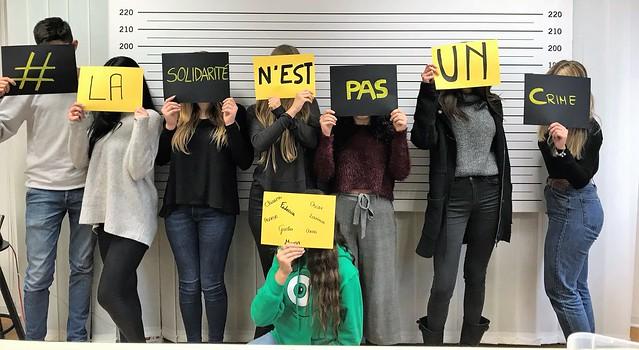 Azione di solidarietà per Martine Landry - Scuole secondarie di II°