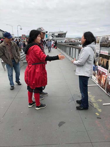 an Francisco, Fisherman's Wharf Leafleting Event – May 26, 2018