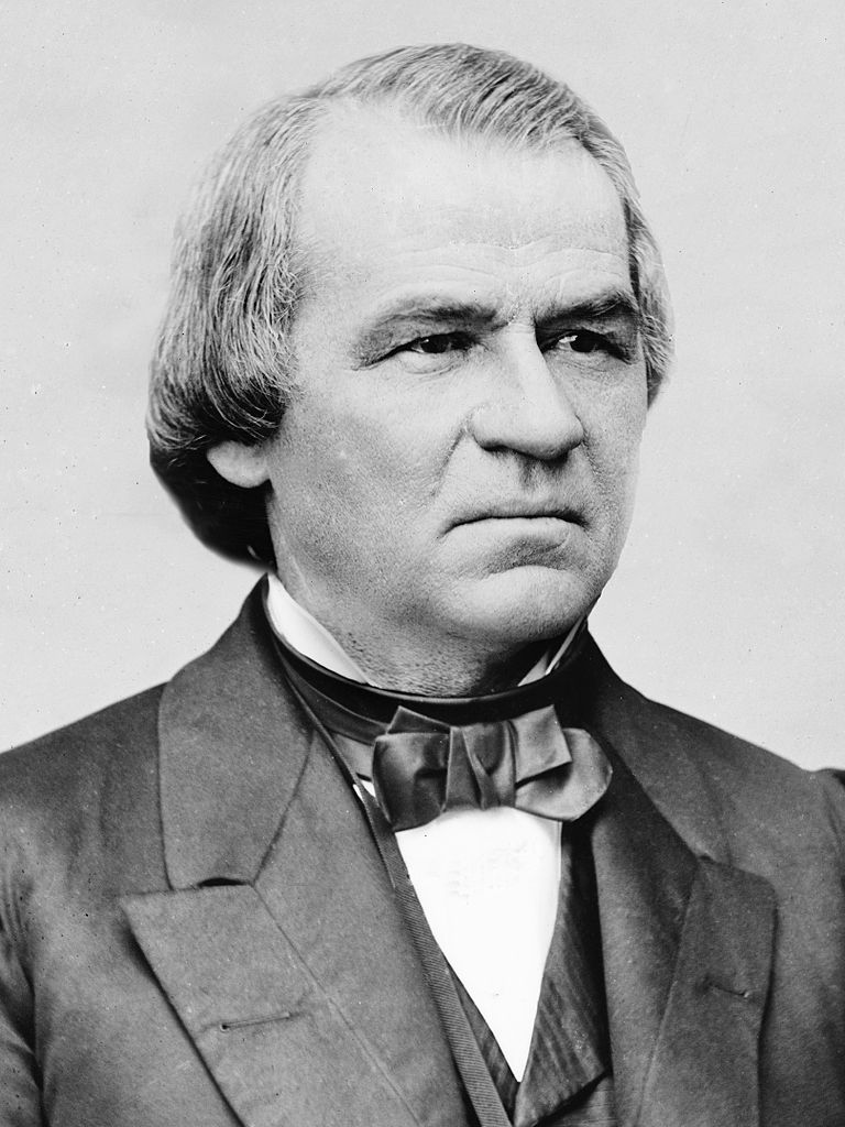 Andrew Johnson (December 29, 1808 – July 31, 1875) was the 17th President of the United States, serving from 1865 to 1869. Johnson became president as he was vice president at the time of the assassination of Abraham Lincoln. A Democrat who ran with Lincoln on the National Union ticket, Johnson came to office as the Civil War concluded. The new president favored quick restoration of the seceded states to the Union. His plans did not give protection to the former slaves, and he came into conflict with the Republican-dominated Congress, culminating in his impeachment by the House of Representatives. He was acquitted in the Senate by one vote.