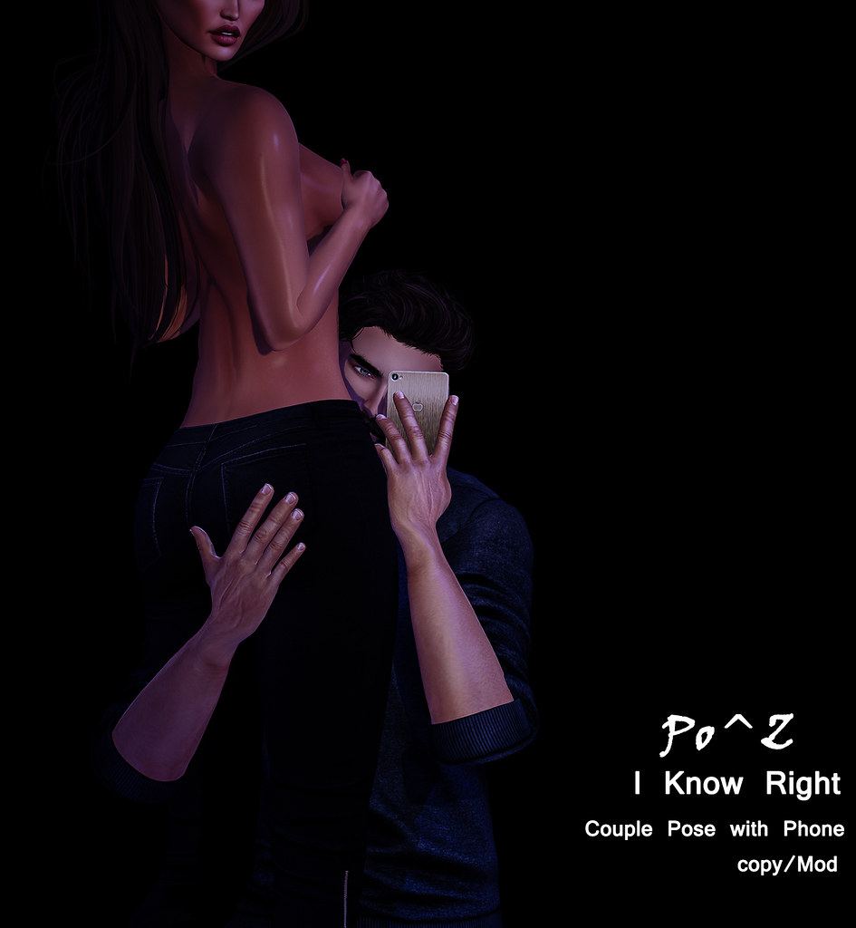 New Release * I know Right * couple pose with Phone - TeleportHub.com Live!