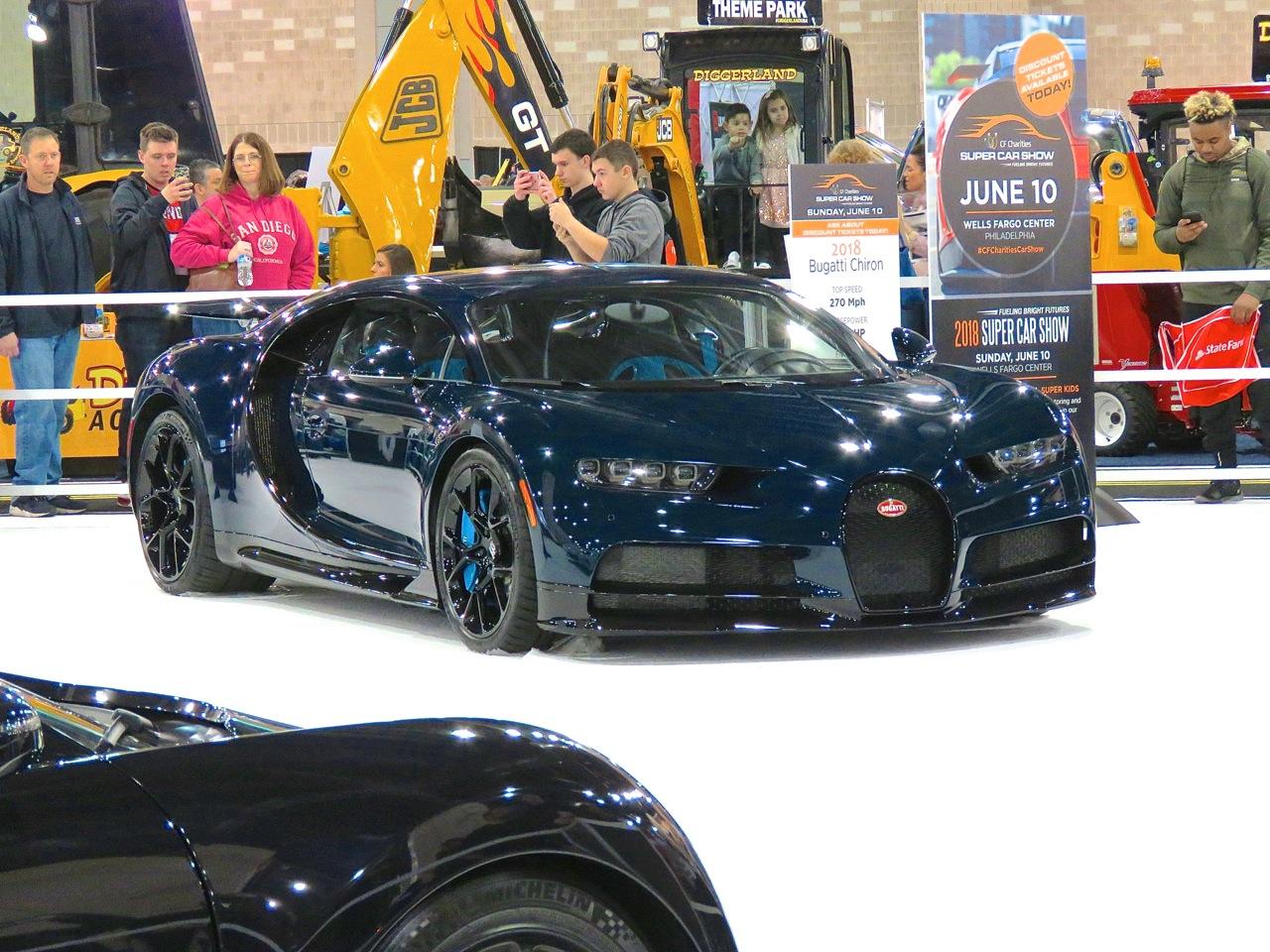 Bugatti Chiron Philly 1