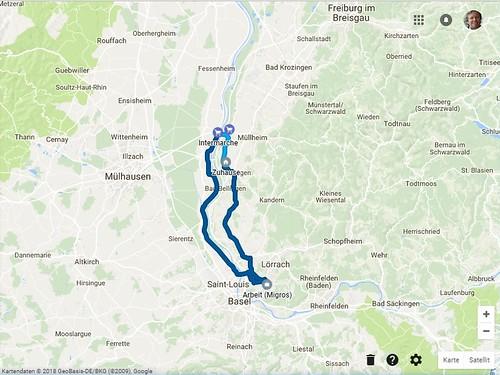 Dreiländertour 60 km
