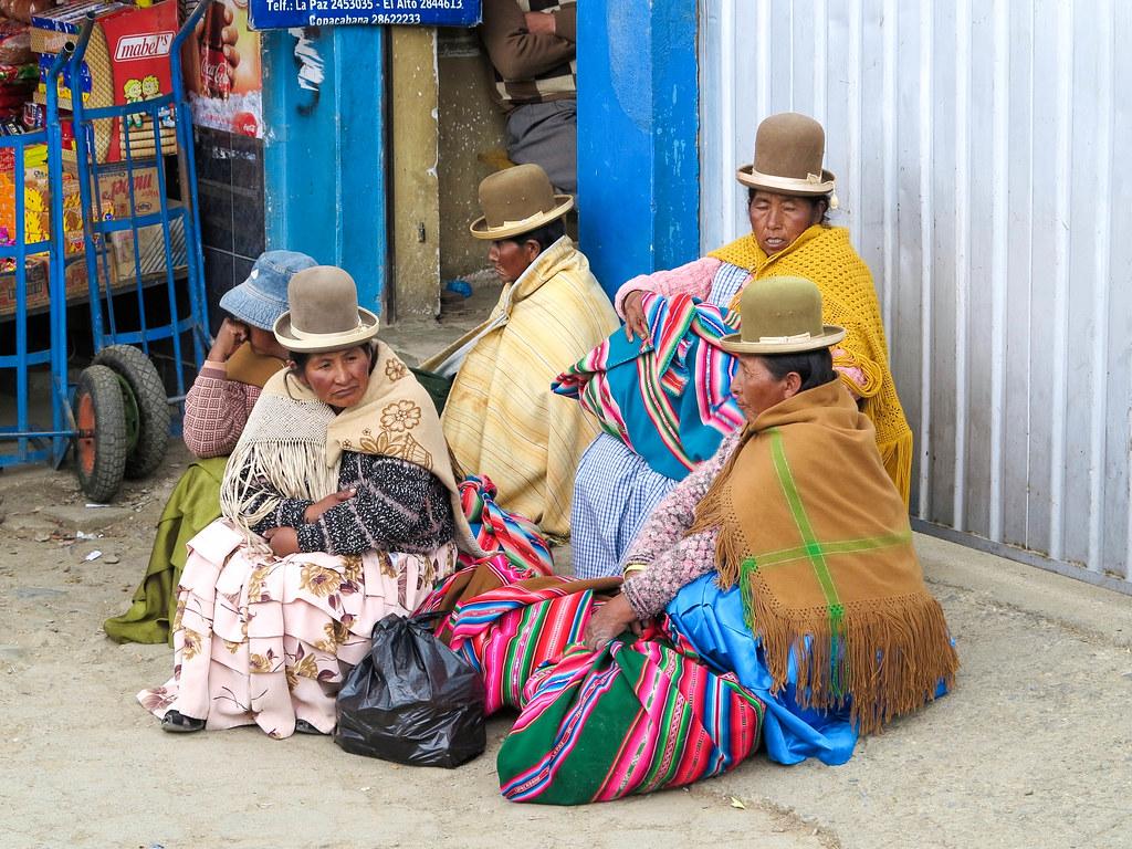 Señoras en Bolivia